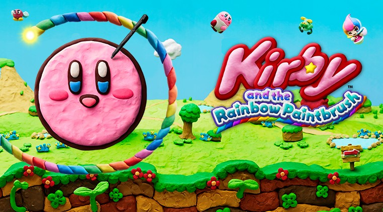 Kirby and the Rainbow Paintbrush 01