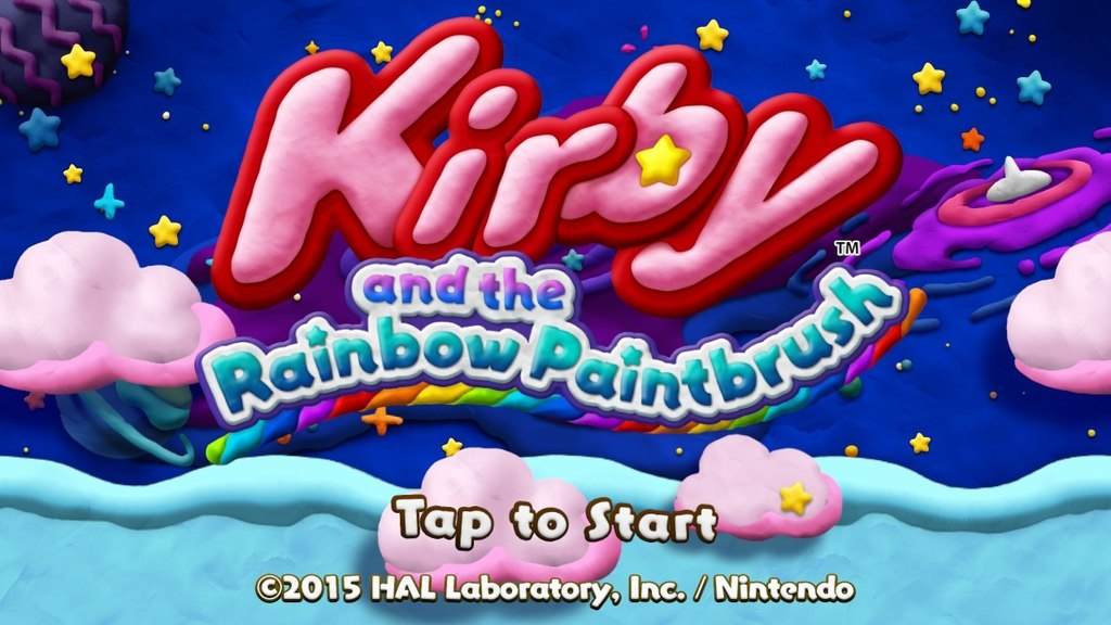 Kirby and the Rainbow Paintbrush 07